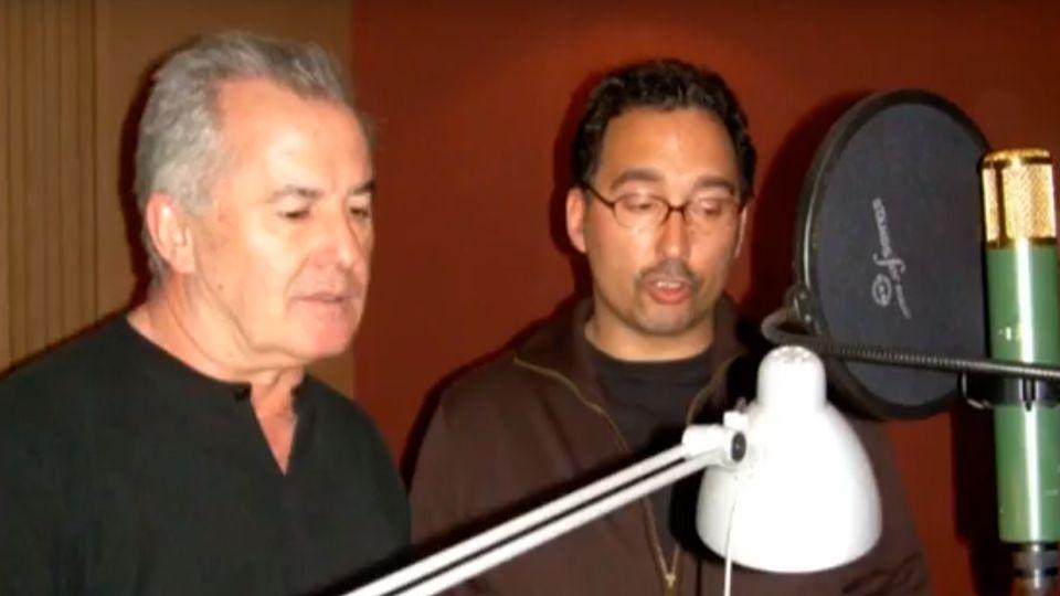 Gabriel Calvo y Víctor Manuel