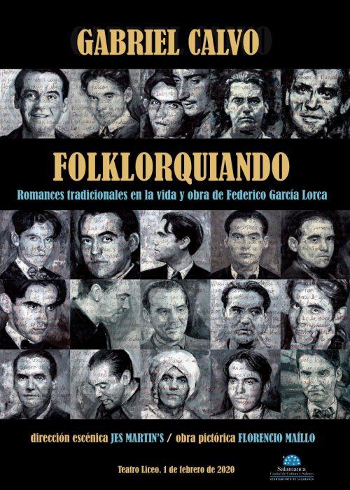 Espectáculo FolkLorquiando Gabriel Calvo